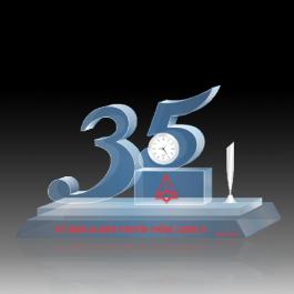 Biểu trưng pha lê VHV_BTP54