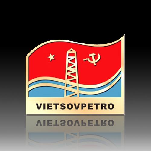 huy hiệu VIETSOVPETRO