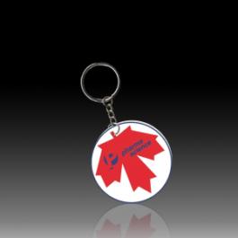 Móc khóa nhựa quốc kỳ Canada
